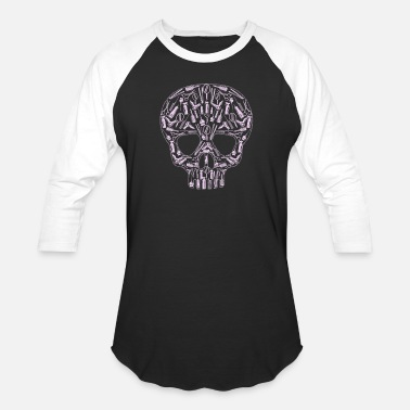 Hair Stylists Tools Hair Stylist Skull for Stylists Job Gift - Baseball T-Shirt
