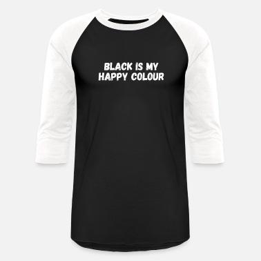 Black is my happy colour t-shirt top t shirt goth emo punk clothing slogan L90