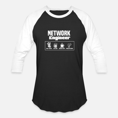Networking network engineer - Unisex Baseball T-Shirt