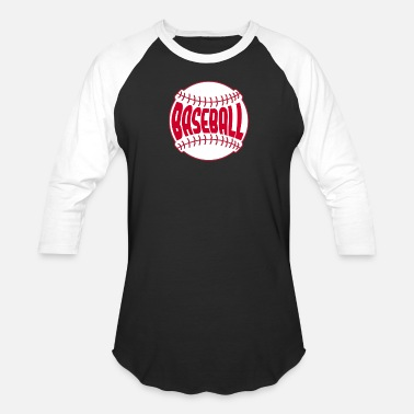 Varsity baseball ball game sports gift idea - Unisex Baseball T-Shirt