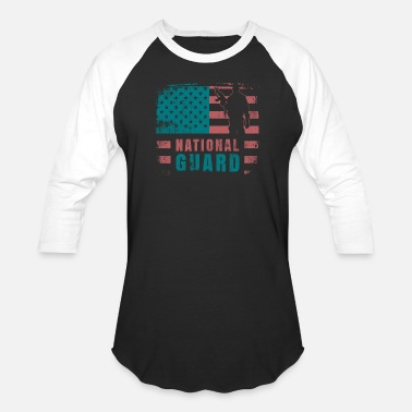 National Guard National Guard Veteran TShirt - Baseball T-Shirt