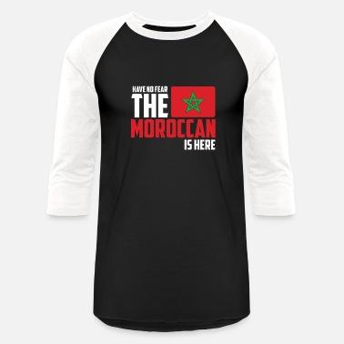Moroccan Football Morocco - Unisex Baseball T-Shirt 2e325308e