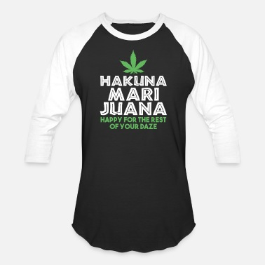 Jordan The Lion HAKUNA MARIJUNA Happy Daze - Baseball T-Shirt
