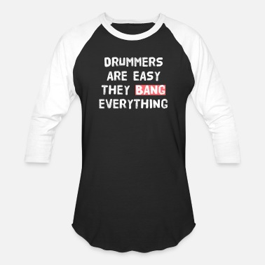 Ninja Sex Party DRUMMER - PARTY - SEX - Baseball T-Shirt