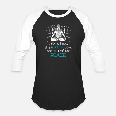 Religion Shiva Faith Religion Hindu gift - Baseball T-Shirt