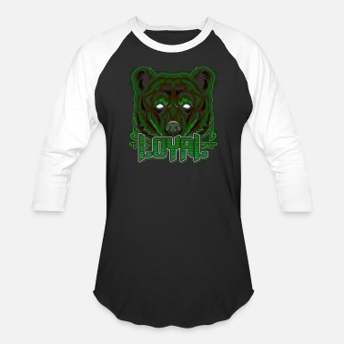 Cool Brown Bear Bear Grizzly Trendy Gift - Unisex Baseball T-Shirt