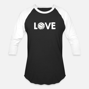 Basic Love Love - Volleyball - Total Basics - Baseball T-Shirt