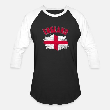 Flag Of England England Flag - Unisex Baseball T-Shirt