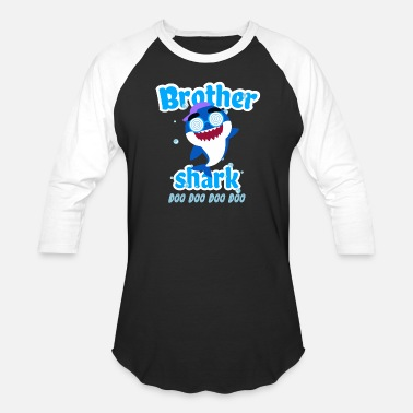 Brother Brother Shark Doo Doo Doo Toddler Shirt - Baseball T-Shirt