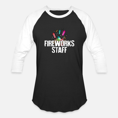Chill Fireworks Staff - Fireworks - Total Basics - Baseball T-Shirt
