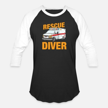 Sea Rescue Rescue Diver - Baseball T-Shirt
