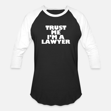 Law Firm Trust Me I'm A Lawyer - Lawyer - Total Basics - Baseball T-Shirt