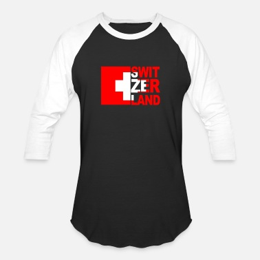 Switzerland Switzerland - Unisex Baseball T-Shirt