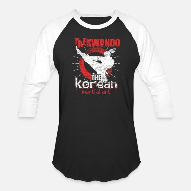 Taekwondo Korean Taekwondo Korean martial art - Baseball T-Shirt