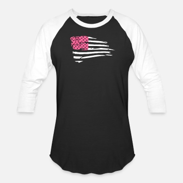 Fight Cancer Fight Cancer Flag - Baseball T-Shirt