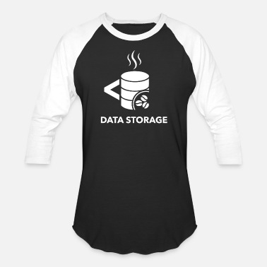 Storage Data storage - Unisex Baseball T-Shirt