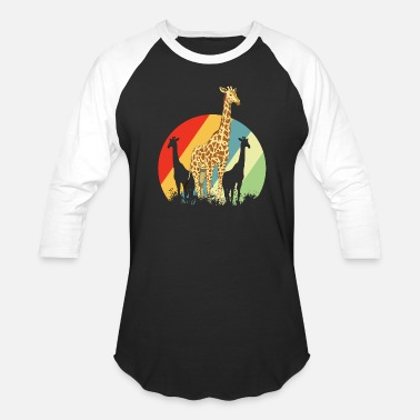 Animals Giraffe Giraffe Safari Giraffes Animal Africa Gift Animals - Baseball T-Shirt