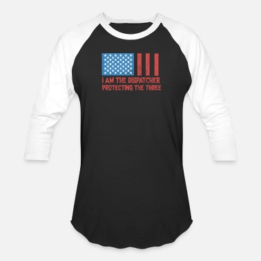 American Dispatcher 911 dispatcher shirts - Baseball T-Shirt