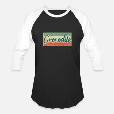 Crocodile Crocodile - Baseball T-Shirt