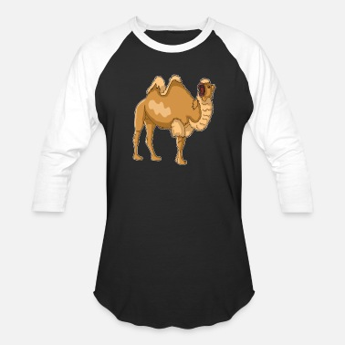 Kids Design Animals Camel Bactrian camel cool animal gift idea - Baseball T-Shirt