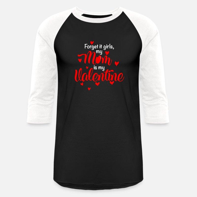 Funny Valentines Day Shirt Mom Is My Valentine Boy Girl Kids 1 By