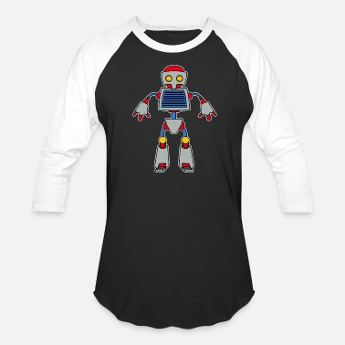 Toddler Robot robot toy mechanical awesome machine gift idea - Baseball T-Shirt