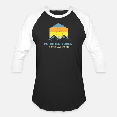 Forest Petrified Forest National Park Shirt - Unisex Baseball T-Shirt