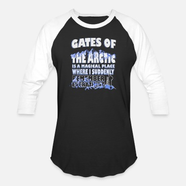 Gate Gates Of The Arctic - Baseball T-Shirt