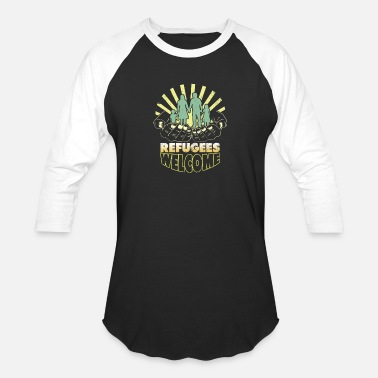 Refugee Refugees - Baseball T-Shirt