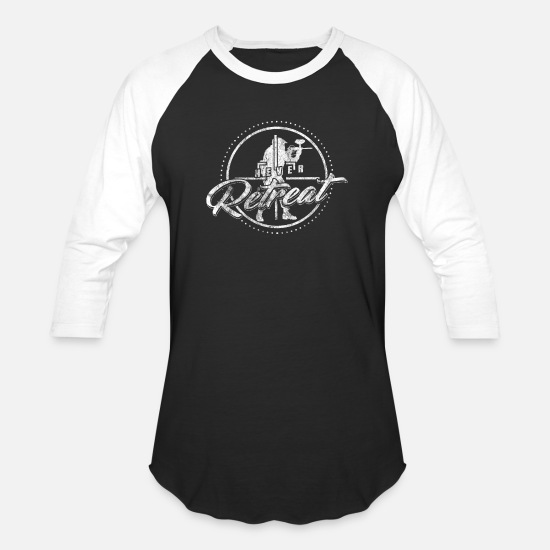 Gift Idea T-Shirts - Paintball - Unisex Baseball T-Shirt black/white