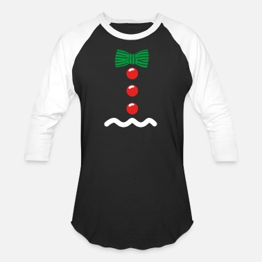 Gingy Gingerbread Man Costume Christmas Cookie Gingy - Baseball T-Shirt
