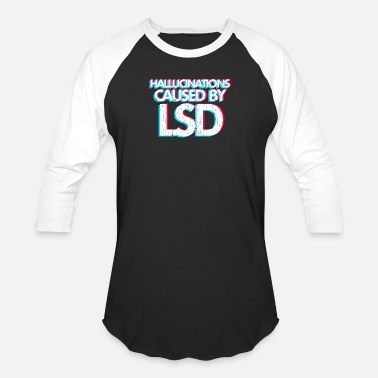 Drug Lsd LSD drug hallucination - Baseball T-Shirt