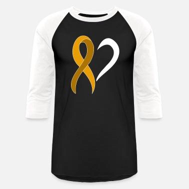 8729599470 Orange Awareness Ribbon Heart Gift Cancer Leukemia Men's V-Neck T ...