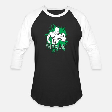 Body Vegan Vegan Body Building - Baseball T-Shirt