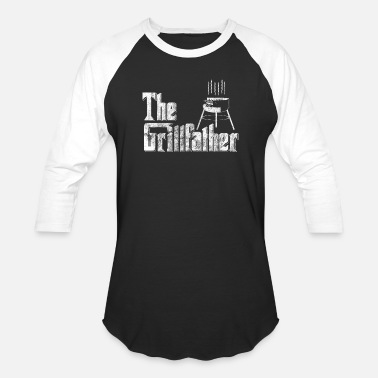 Grilled Meat Grill BBQ meat food - Baseball T-Shirt