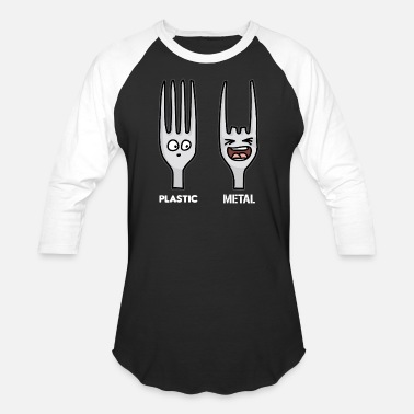 Funny Heavy Metal PLASTIC METAL funny Heavy Metal - Baseball T-Shirt