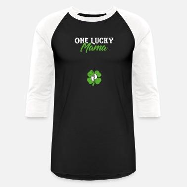 ea9b7fe5 One Lucky Mama St Patricks Day Pregnancy Men's Premium T-Shirt ...