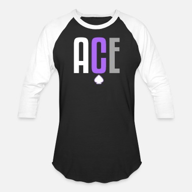 2333cce2 ACE Asexual | Asexuality Pride, ACE Pride - Unisex Baseball T-Shirt