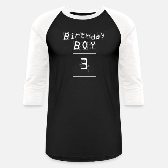 1ba27708 Party T-Shirts - Birthday Boy three - 3 Year Old Birthday Shirt - Unisex