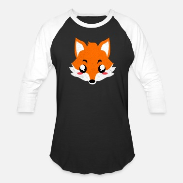 Fox In Fox - Unisex Baseball T-Shirt