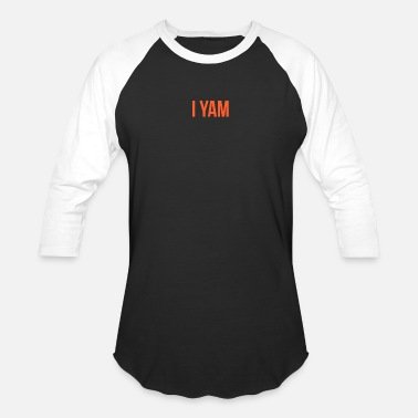 My i She's My Sweet Potato I Yam Matching Couple's - Unisex Baseball T-Shirt