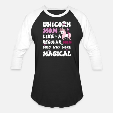 3669ae49 Unicorn Mom Womens Mamacorn Unicorn Mom TShirt Mother's Day - Unisex  Baseball