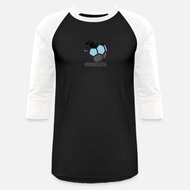 5f293c843c9 Minnesota Fan Minnesota Soccer Fan Ball Merchandise Apparel - Unisex  Baseball T-Shirt
