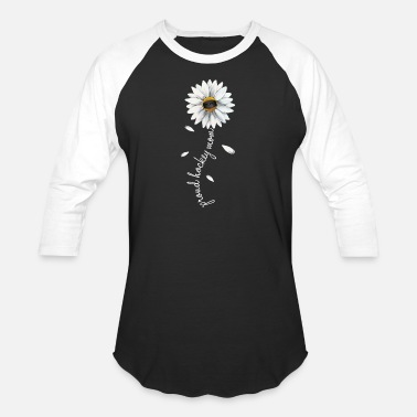 Hockey Flower - Mother_s Day T-shirt For Women-Hockey - Unisex Baseball T-Shirt