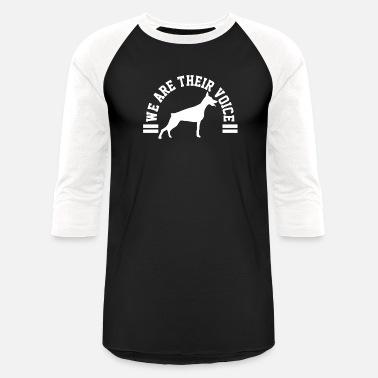 8f8bc77cda3b Animal Awareness Doberman Dog Animal Awareness - Unisex Baseball T-Shirt