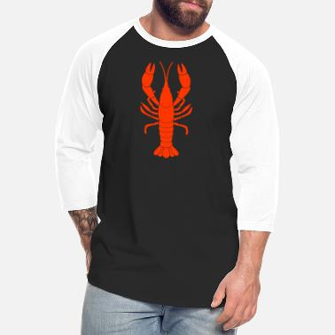 Grill Lobster With holidays travel parties grilling lobster ocean - Unisex Baseball T-Shirt