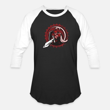 Middle Ages Knight Middle Age Fighter - Unisex Baseball T-Shirt