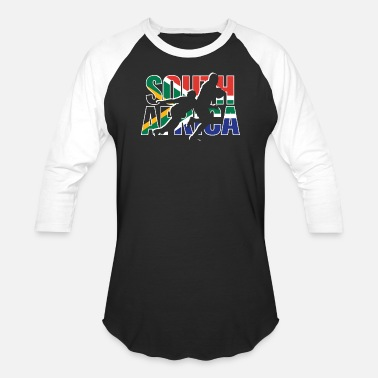 Africa rugby south africa 3 - Unisex Baseball T-Shirt