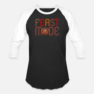Feast Day Feast Mode - Unisex Baseball T-Shirt