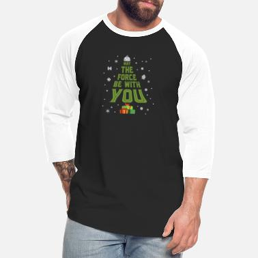 May The Force May The Force Be With You - Unisex Baseball T-Shirt